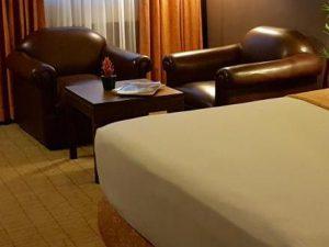 マニラのホテル室内