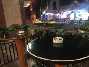 パンパシフィックホテル 喫煙所 マニラ