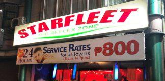 【夜遊び】マニラのマッサージ店「スターフリート STAR FLEET」