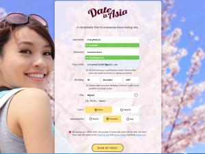出会い系サイト「デートインアジア Date in Asia」
