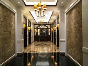 マニラのホテル エレベーター
