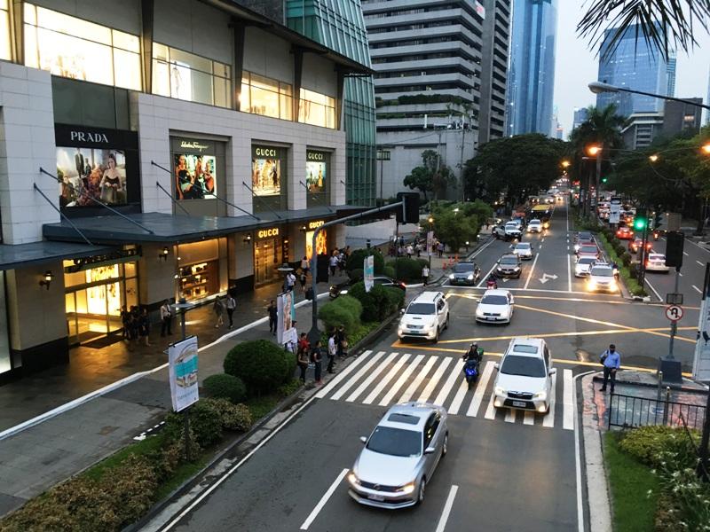 マニラ マカティ 街の写真