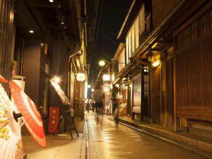京都 祇園 街
