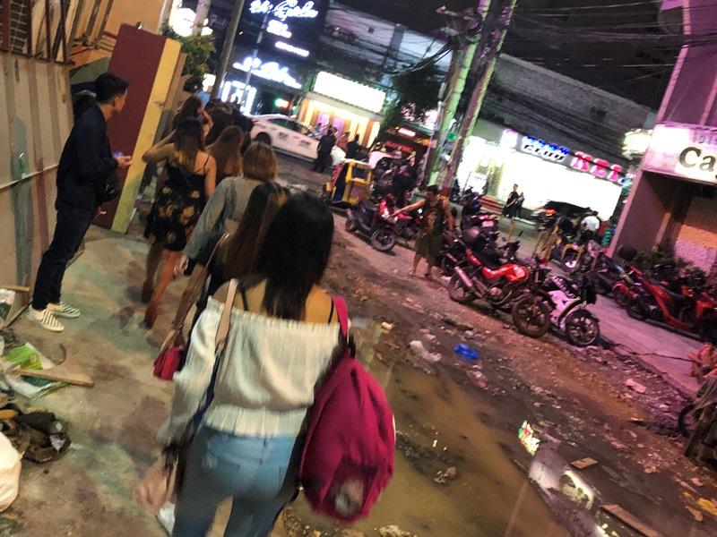 フィリピーナ 夜遊び面接