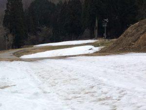 奥伊吹スキー場 12月