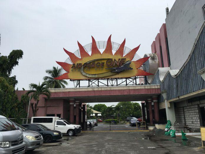 エアフォースワン フィリピン