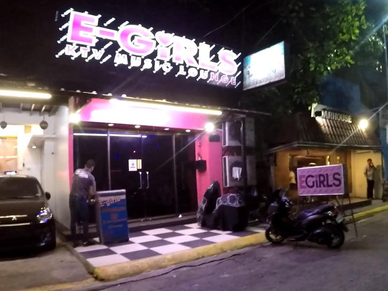 マニラKTV 夜遊び「E-girls」