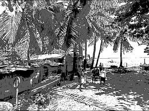 フィリピーナの実家