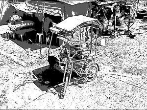 フィリピン 自転車 トライシクル