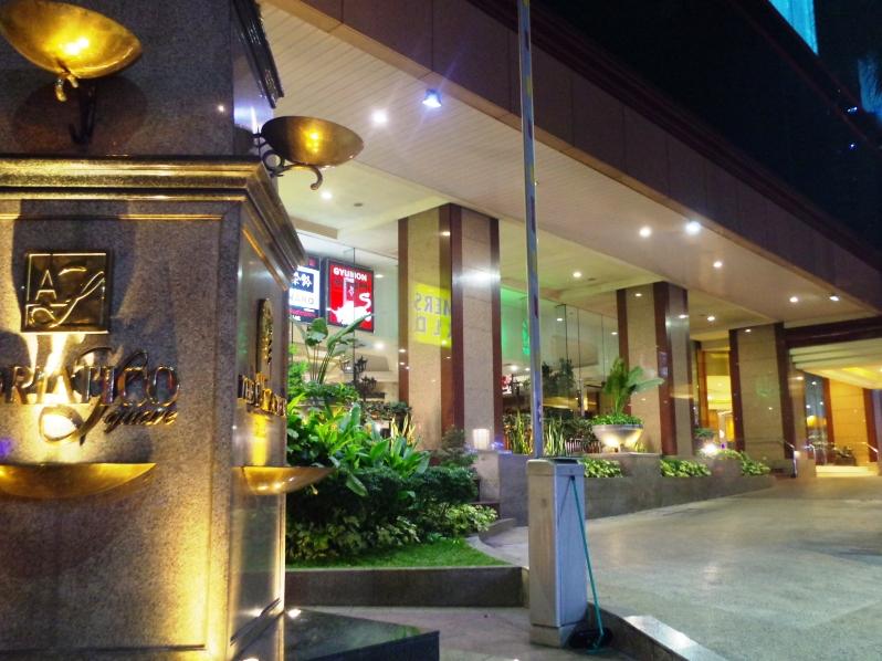 マニラの夜遊び おすすめホテル シェラトンホテル(旧パンパシフィックホテル)