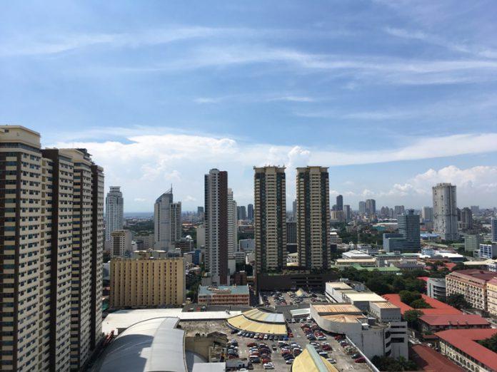昼間のマニラ風景