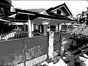 フィリピン 富裕層の家