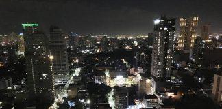 マニラ マラテの夜景
