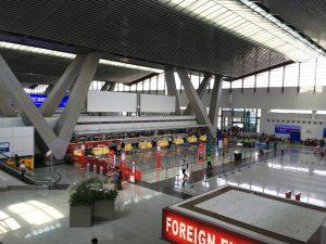 マニラ空港 第三ターミナル 出発ロビー