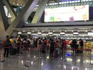 マニラ空港 第三ターミナル エアアジア チェックイン