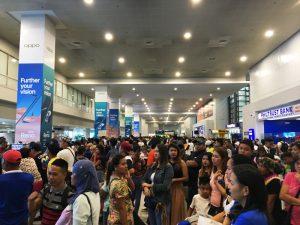 第三ターミナル マニラ空港 到着ゲート