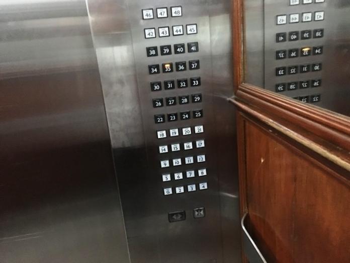 JMMホテル エレベーター