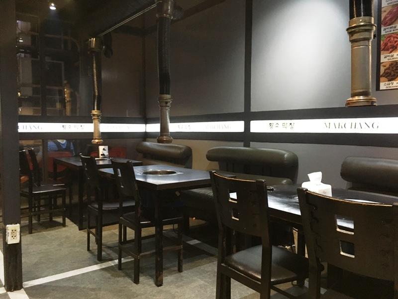 フィリピン おすすめレストラン 韓国焼肉 店内の様子