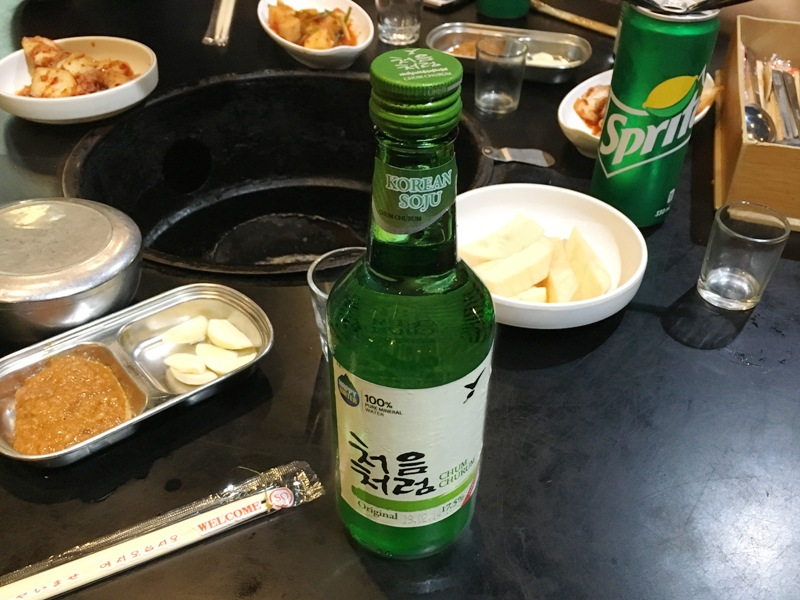 フィリピン おすすめレストラン 韓国焼肉 焼酎