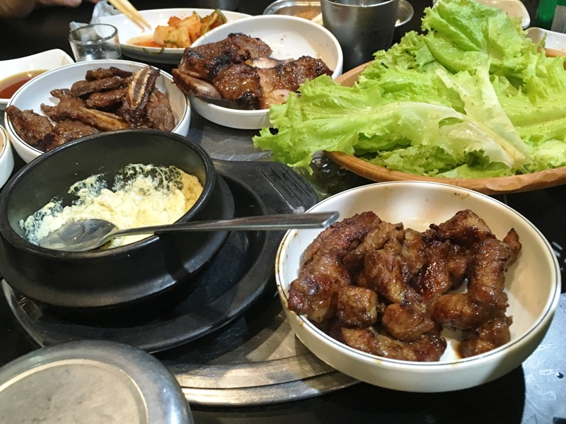 フィリピン おすすめレストラン 韓国焼肉 サムギョプサル