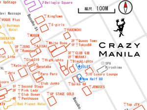 マニラ夜遊びマップ 最新2020年 KTVマップ