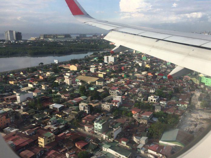 フィリピン 飛行機 マニラ空港