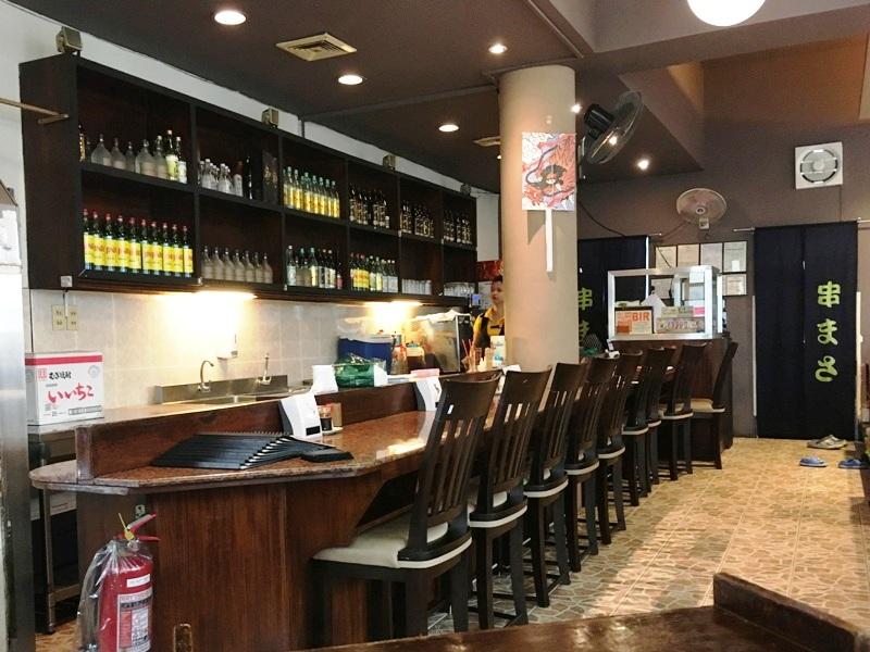マニラのおすすめ定食屋「串まさ」 日本食居酒屋グルメ