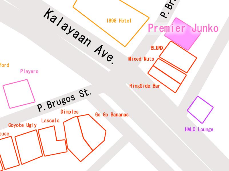プレミア順子の周辺マップ マカティ地図