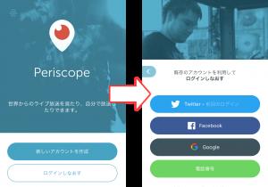 Periscope ペリスコープ
