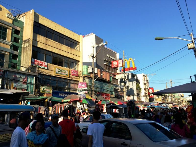 バクラランマーケット マニラ